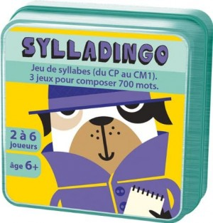 Couverture de Sylladingo : Jeu de syllabes ( du CP au CM 1 )