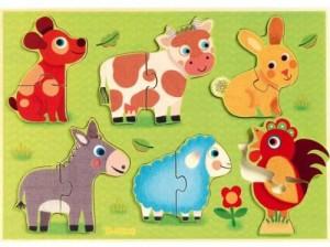 Couverture de Puzzle coucou-cow