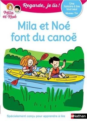 """Afficher """"Mila et NoéMila et Noé font du canoë"""""""