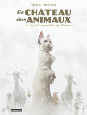 vignette de 'Le château des animaux n° 2<br />Les marguerites de l'hiver (Félix Delep)'