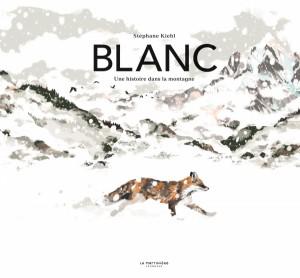 Couverture de Blanc : une histoire dans la montagne
