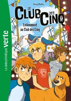 """Afficher """"Le Club des Cinq Enlèvement au Club des Cinq"""""""