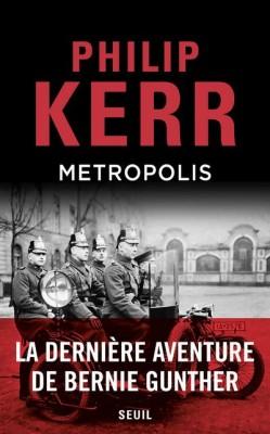 Couverture de Metropolis : une aventure de Bernie Gunther