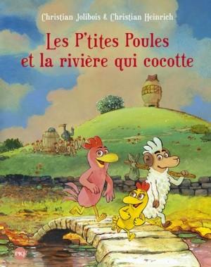 """Afficher """"Les P'tites Poules n° 18Les p'tites poules et la rivière qui cocotte"""""""