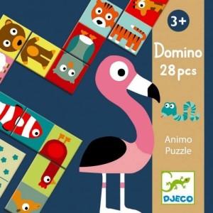 Couverture de Domino Puzzle : 28 pièces