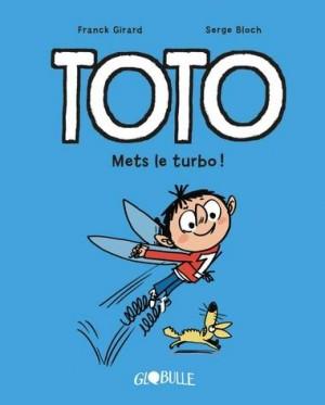 Couverture de Toto n° 8 Mets le turbo !
