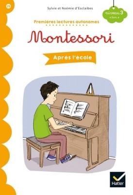 Couverture de Après l'école : Montessori