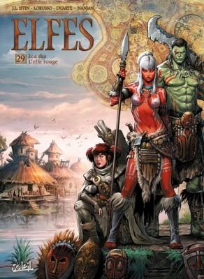 """Afficher """"Elfes n° 29Lea'saa, l'elfe rouge"""""""""""