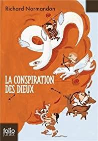 """Afficher """"La conspiration des dieux (Tome 1) - La Pythie assassinée"""""""