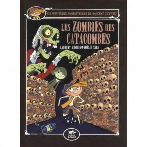 """Afficher """"Les aventures fantastiques de Sacré-CoeurLes zombies des catacombes"""""""