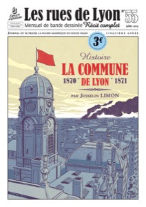 """Afficher """"Les Rues de Lyon n° 55 Commune de Lyon (La)"""""""