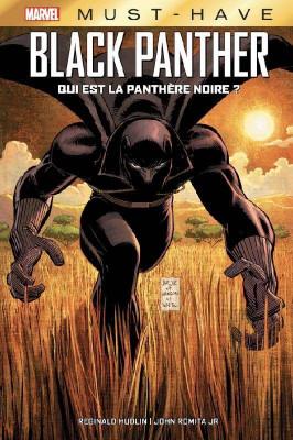 Couverture de Black panther : Qui est la panthère noire ?