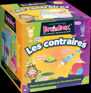 Couverture de Brainbox , Les contraires