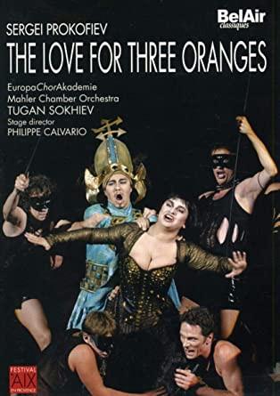 """Afficher """"L'Amour des trois oranges"""""""
