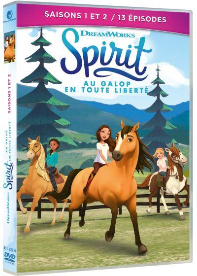 Couverture de Spirit, au galop en toute liberté - Saisons 1 et 2