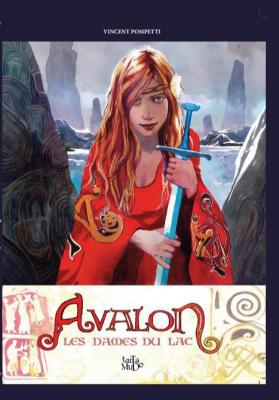 Couverture de Avalon : les dames du lac