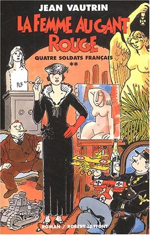 Quatre soldats français n° 2La femme au gant rouge