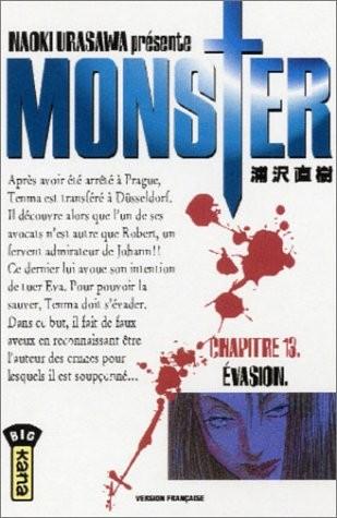 Monster n° 13Évasion