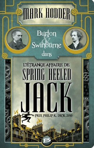 Burton et Swinburne n° 1 Burne & Swinburne dans l'étrange affaire de Spring Heeled Jack