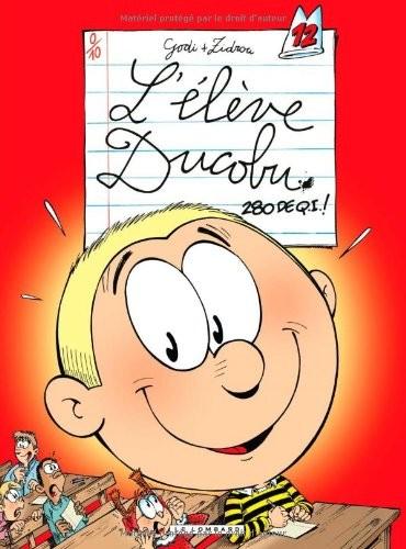 L'élève Ducobu n° 12 L'élève Ducobu.
