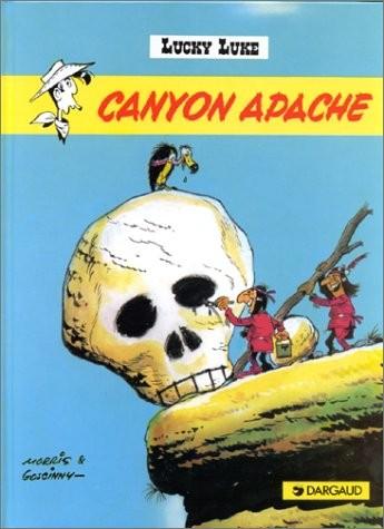 Lucky Luke. n° 6 Canyon apache