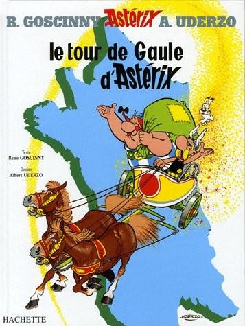Une aventure d'Astérix n° 5 Le tour de Gaule d'Astérix