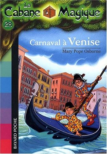 Cabane magique (La) n° 28 Carnaval à Venise