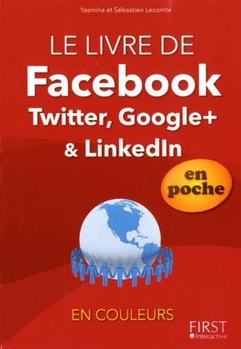 Facebook, Twitter, Google+ & Linkedln