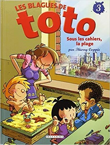 Les Blagues de Toto n° 3 Sous les cahiers, la plage