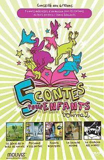5 contes pour enfants
