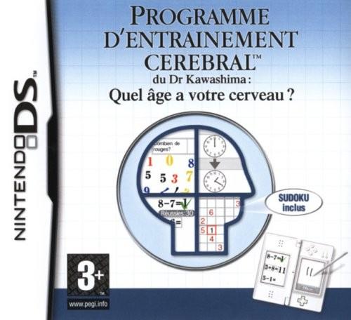 Programme d'Entraînement Cérébral Avancé du Dr Kawashima : Quel Age a votre Cerveau ?