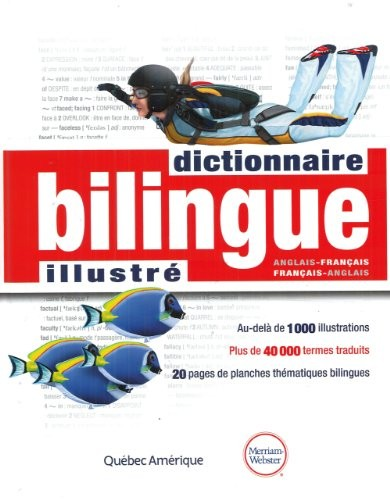 Dictionnaire bilingue illustré