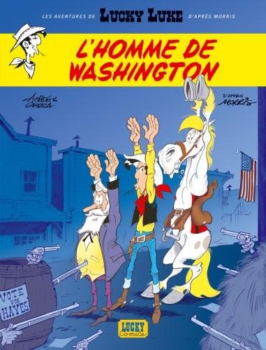 Les aventures de Lucky Luke d'après Morris n° 3 L'homme de Washington