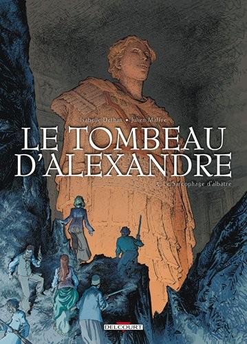 Le tombeau d'Alexandre n° 3 Le sarcophage d'albâtre