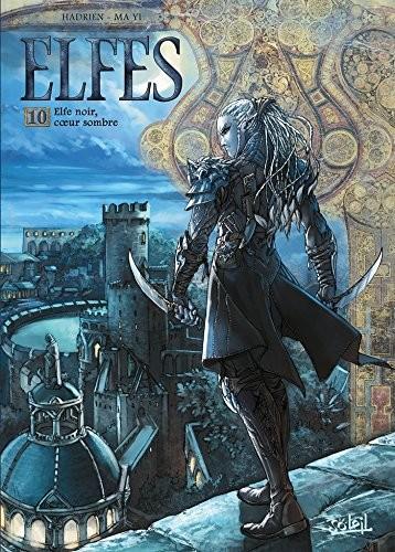 Elfes n° 10 Elfe noir, coeur sombre
