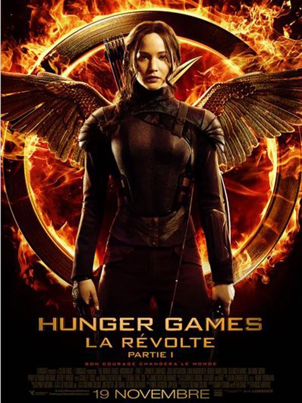 Hunger games n° 3 La Révolte, partie 1