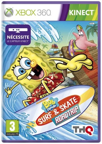 Bob l'éponge surf & skate roadtrip