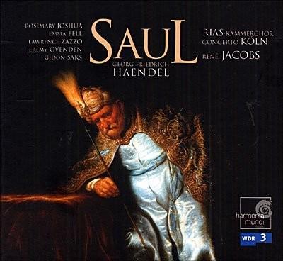 Saul, oratorio en 3 actes