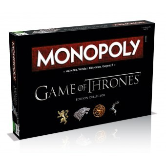 Couverture de Monopoly : Game of Thrones