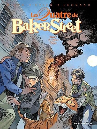 Les quatre de Baker Street n° 7 L'affaire Moran
