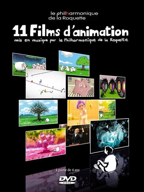 11 films d'animation mis en musique par Le Philharmonique de la Roquette