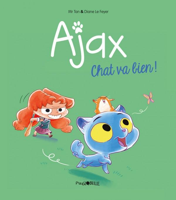 Couverture de Ajax n° 1 Chat va bien !
