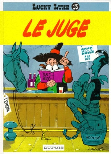 Lucky luke n° 13 Le juge