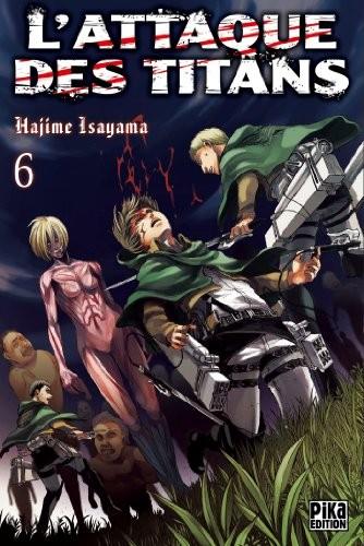 L'attaque des titans n° 6