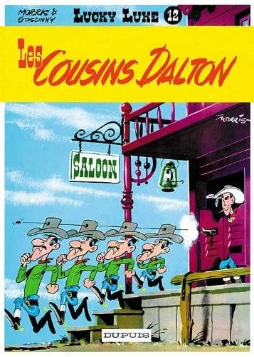 Lucky Luke n° 12 Les cousins Dalton