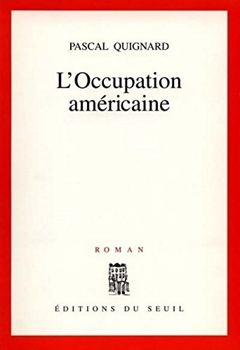 L'occupation américaine