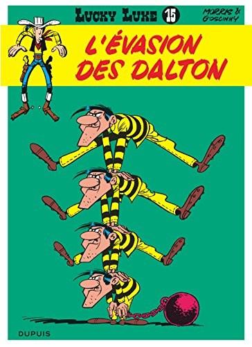 Lucky Luke n° 15 L'évasion des Dalton
