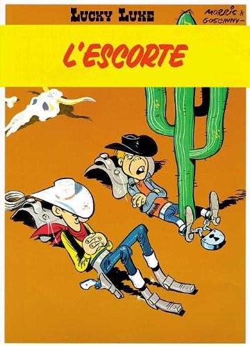 Lucky Luke n° 28 L'Escorte