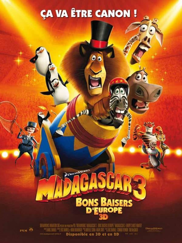 Madagascar n° 03 Madagascar 3 : Bons baisers d'Europe