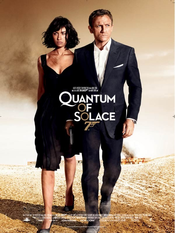 James Bond n° 22Quantum of Solace